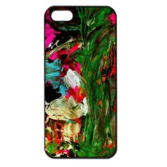 Sunset In A Mountains 1 Apple Iphone 5 Seamless Case (black) by bestdesignintheworld