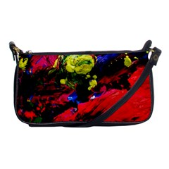Night, Pond And Moonlight 1 Shoulder Clutch Bags by bestdesignintheworld