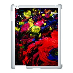 Night, Pond And Moonlight 1 Apple Ipad 3/4 Case (white) by bestdesignintheworld