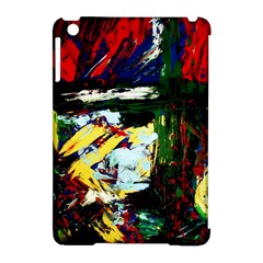 Tumble Weed And Blue Rose 2 Apple Ipad Mini Hardshell Case (compatible With Smart Cover) by bestdesignintheworld