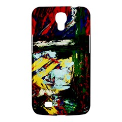 Tumble Weed And Blue Rose 2 Samsung Galaxy Mega 6 3  I9200 Hardshell Case by bestdesignintheworld