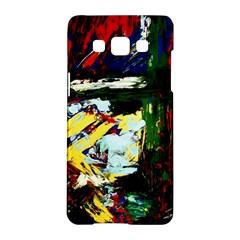Tumble Weed And Blue Rose 2 Samsung Galaxy A5 Hardshell Case  by bestdesignintheworld