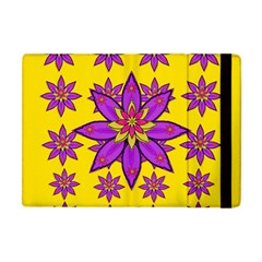 Fantasy Big Flowers In The Happy Jungle Of Love Apple Ipad Mini Flip Case by pepitasart
