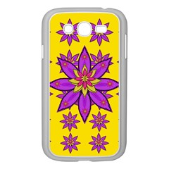 Fantasy Big Flowers In The Happy Jungle Of Love Samsung Galaxy Grand Duos I9082 Case (white) by pepitasart