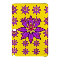 Fantasy Big Flowers In The Happy Jungle Of Love Samsung Galaxy Tab Pro 10 1 Hardshell Case by pepitasart