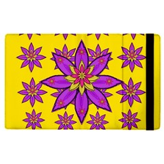 Fantasy Big Flowers In The Happy Jungle Of Love Apple Ipad Pro 9 7   Flip Case by pepitasart