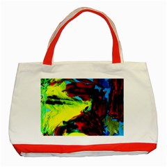 3 Classic Tote Bag (red) by bestdesignintheworld