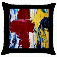 Point Of View #2 Throw Pillow Case (black)