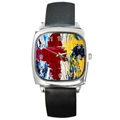 Point Of View #2 Square Metal Watch by bestdesignintheworld