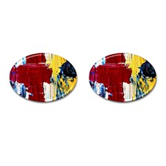 Point Of View #2 Cufflinks (oval) by bestdesignintheworld