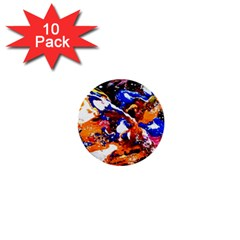 Smashed Butterfly 1  Mini Buttons (10 Pack)  by bestdesignintheworld
