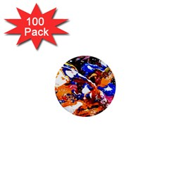 Smashed Butterfly 1  Mini Buttons (100 Pack)  by bestdesignintheworld