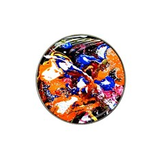 Smashed Butterfly Hat Clip Ball Marker (4 Pack) by bestdesignintheworld