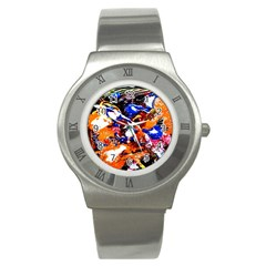 Smashed Butterfly Stainless Steel Watch by bestdesignintheworld