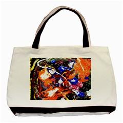 Smashed Butterfly Basic Tote Bag by bestdesignintheworld