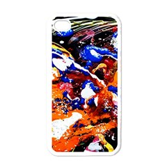 Smashed Butterfly Apple Iphone 4 Case (white) by bestdesignintheworld