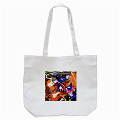 Smashed Butterfly Tote Bag (white) by bestdesignintheworld