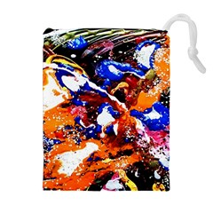 Smashed Butterfly Drawstring Pouches (extra Large) by bestdesignintheworld
