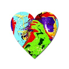 Untitled Island 1 Heart Magnet by bestdesignintheworld