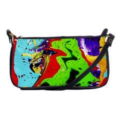 Untitled Island 1 Shoulder Clutch Bags by bestdesignintheworld