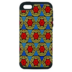 Artwork By Patrick Colorful 43 Apple Iphone 5 Hardshell Case (pc+silicone)