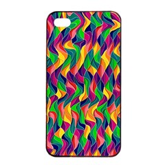 Artwork By Patrick Colorful 44 Apple Iphone 4/4s Seamless Case (black)