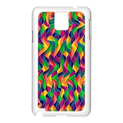 Artwork By Patrick Colorful 44 Samsung Galaxy Note 3 N9005 Case (white)