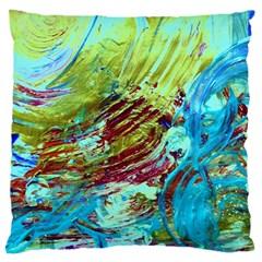 June Gloom 12 Large Cushion Case (two Sides) by bestdesignintheworld