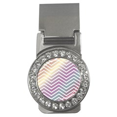 Ombre Zigzag 01 Money Clips (cz)  by snowwhitegirl