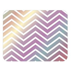 Ombre Zigzag 01 Double Sided Flano Blanket (large)  by snowwhitegirl