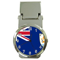 Flag Of Anguilla Money Clip Watches by abbeyz71