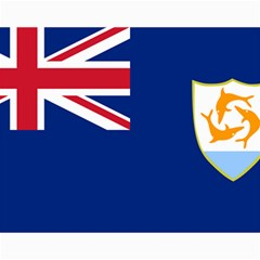 Flag Of Anguilla Canvas 11  X 14   by abbeyz71