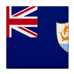 Flag Of Anguilla Face Towel by abbeyz71