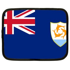 Flag Of Anguilla Netbook Case (xl)  by abbeyz71
