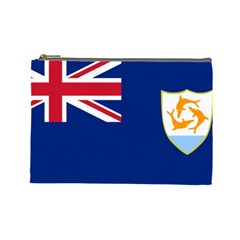 Flag Of Anguilla Cosmetic Bag (large)  by abbeyz71