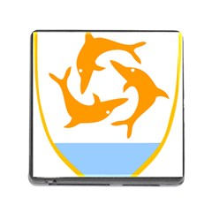 Coat Of Arms Of Anguilla Memory Card Reader (square) by abbeyz71