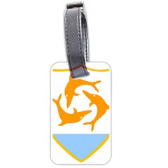 Coat Of Arms Of Anguilla Luggage Tags (one Side)  by abbeyz71