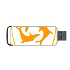 Coat Of Arms Of Anguilla Portable Usb Flash (one Side) by abbeyz71