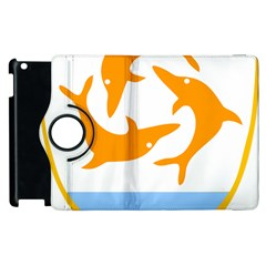 Coat Of Arms Of Anguilla Apple Ipad 3/4 Flip 360 Case by abbeyz71