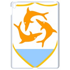 Coat Of Arms Of Anguilla Apple Ipad Pro 9 7   White Seamless Case by abbeyz71