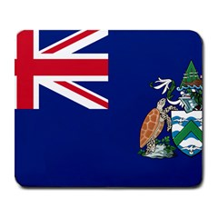 Flag Of Ascension Island Large Mousepads by abbeyz71