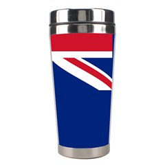 Flag Of Ascension Island Stainless Steel Travel Tumblers by abbeyz71
