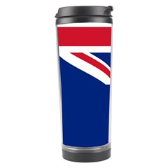 Flag Of Ascension Island Travel Tumbler by abbeyz71