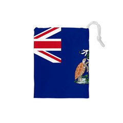 Flag Of Ascension Island Drawstring Pouches (small)  by abbeyz71