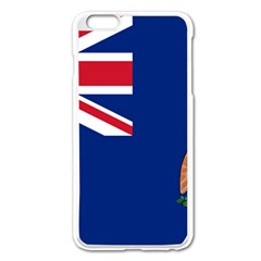 Flag Of Ascension Island Apple Iphone 6 Plus/6s Plus Enamel White Case by abbeyz71