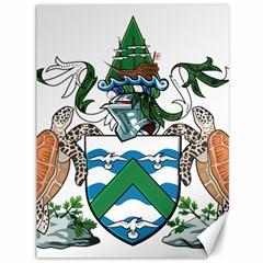 Flag Of Ascension Island Canvas 36  X 48   by abbeyz71
