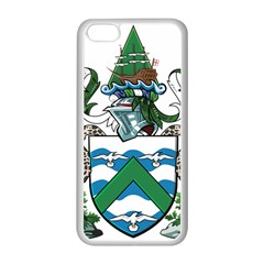 Flag Of Ascension Island Apple Iphone 5c Seamless Case (white) by abbeyz71