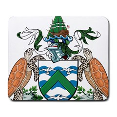 Coat Of Arms Of Ascension Island Large Mousepads by abbeyz71