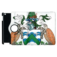 Coat Of Arms Of Ascension Island Apple Ipad 3/4 Flip 360 Case by abbeyz71