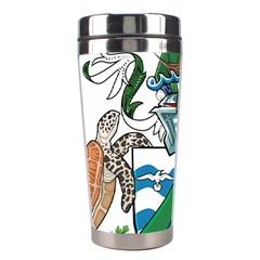 Coat Of Arms Of Ascension Island Stainless Steel Travel Tumblers by abbeyz71